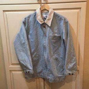 Other - Vintage 90s denim jacket light wash L